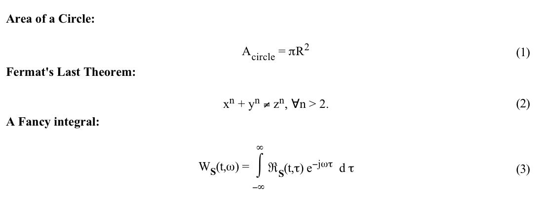 Math Symbols In Html
